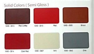 Solid Colors 2(Semi Gloss)